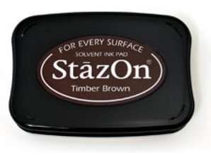 Stazon stempelinkt- timber brown