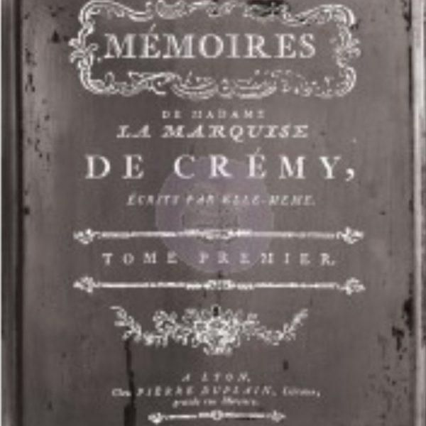 WITTE rub-on transfer Memoires