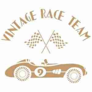 Stencil vintage race team 40 x 40