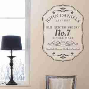 Stencil whisky john daniels 50 x 70