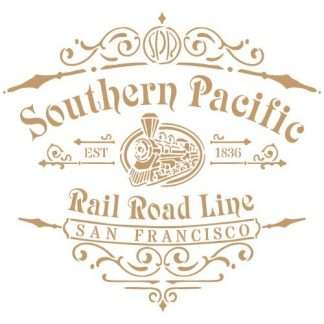 stencil southern pacific