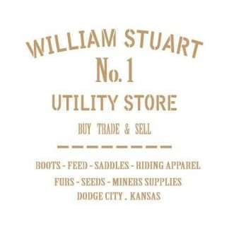 Stencil William Stuart