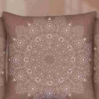 Stencil mandala rosette 50 x 50 cm
