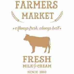 Stencil Farmers market 40 x 60