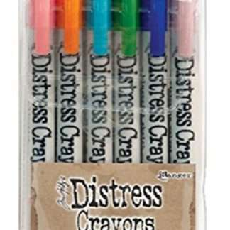 Ranger distress crayons 6