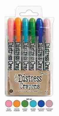 Ranger distress crayons 6