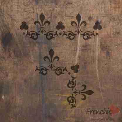 Stencil Lace petticoat
