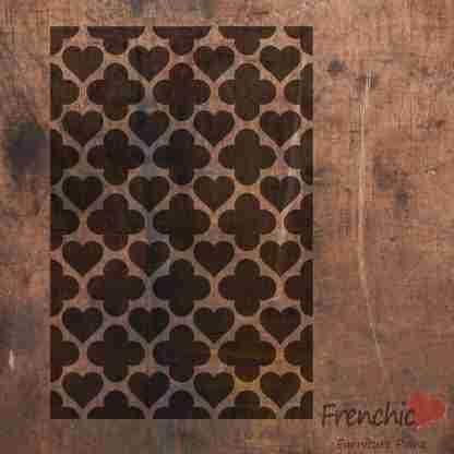 Stencil Hearts of Morocco
