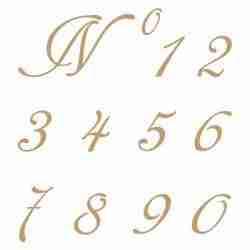 Stencil cijfers 001 - 4,8 hoog