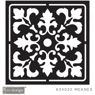 3D stencil Meknes (reliëf voor betontegel)