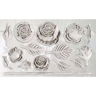 Heirloom roses - IOD ornament mal