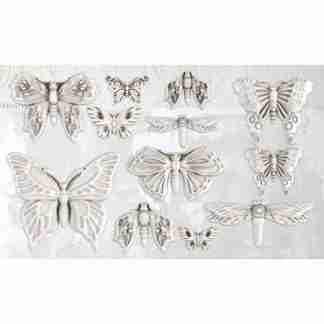 Ornament mal Monarch - vlinders