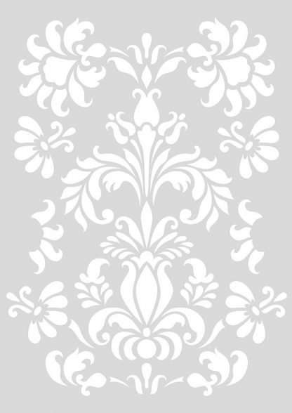 Barok stencil - 29 x 42