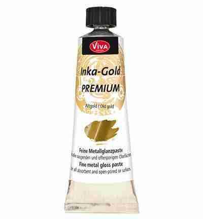 Inka-gold metaalpasta - antiek goud