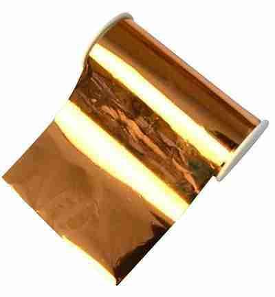 Metalleffekt-folie brons