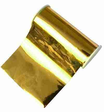 Metalleffekt-folie goud