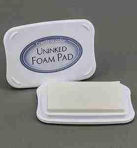 Uninked foam pad / Stempelkussen zonder inkt