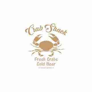 Stencil Crab Shack 30 x 45