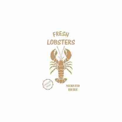 Stencil Fresh Lobsters