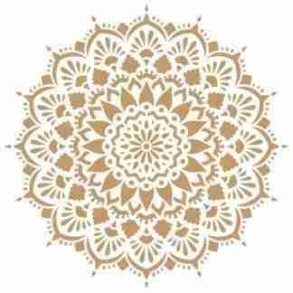 Stencil Mandala 6389 - 50 x 50