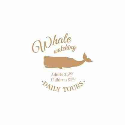 Stencil Whale Watching 30 x 45