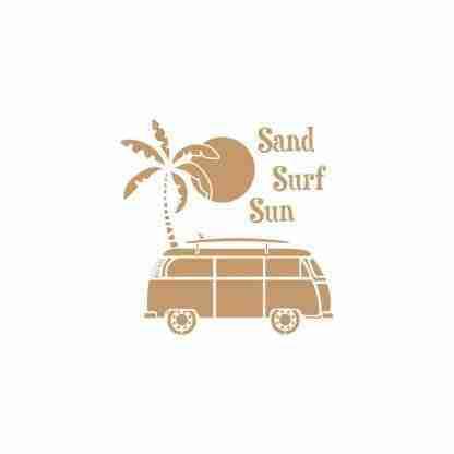 Stencil Sand, Surf, Sun 30 x 45