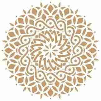 Stencil Mandala 63901 - 25 x 25 cm