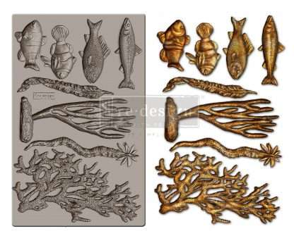 Redesign Decor Moulds - Coral Reef