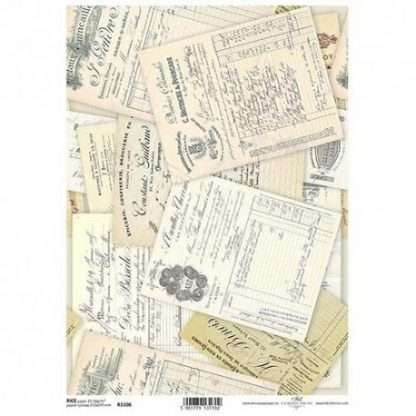 ITD Collection Rice paper R1106 - A4
