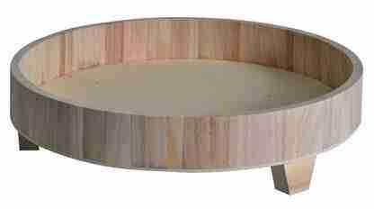 Rond plateau 38 x 8,5 cm