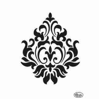 Stencil klein ornament A5