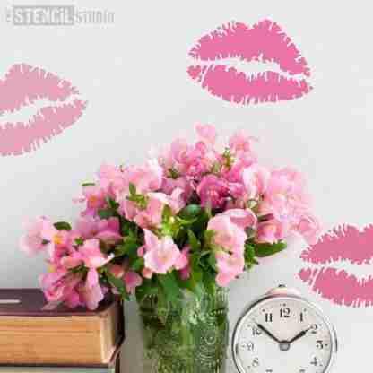 StencilStudio lipstick afdruk kus - A5