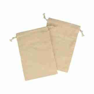 Twee zakjes 10 x 15 cm