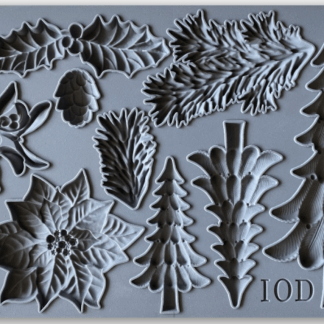 Iron orchid designs Boughs of Holly mold