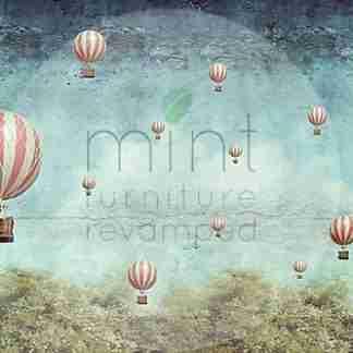 MINT decoupage papier Balloons