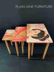 MINT decoupage papier Geisha