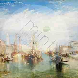 MINT decoupage papier - Venice by Joseph Turner