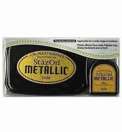 StazOn stempel inkt - Metallic Gold