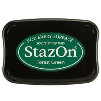 StazOn stempel inkt Forest Green