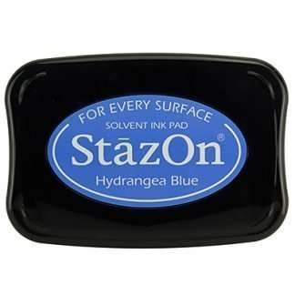StazOn stempel inkt Hydrangea Blue