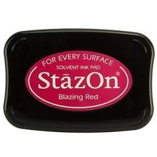 StazOn stempelinkt Blazing red