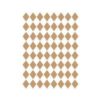 Stencil Background Diamond Ruitjes 40 x 60