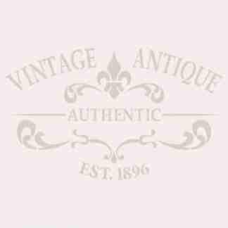 stencil vintage antique