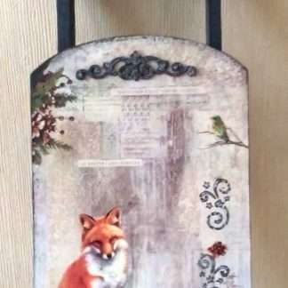 Ciao Bella decoupage papier When snow falls..