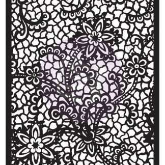Finnabair stencil Floral net