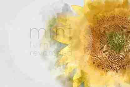 MINT decoupage Sunflower