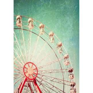 MINT by Michelle decoupage papier Ferris Wheel