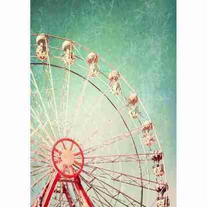 MINT by Michelle decoupage papier Ferris Wheel