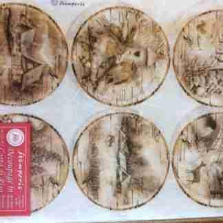 Stamperia rice paper dfsa4256 - A4