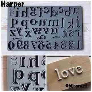 IOD alfabet mal Harper